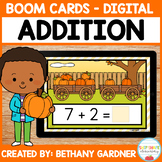 Pumpkin Addition - Boom Cards - Distance Learning