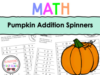 Pumpkin Addition Spinners