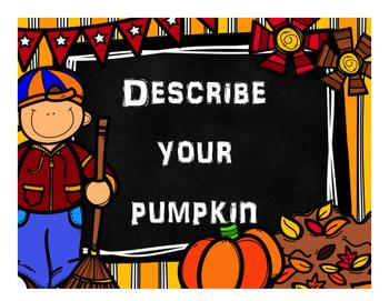 Pumpkin Adjectives