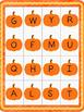 Pumpkin Alphabet Bingo