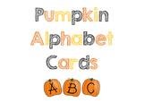 Pumpkin Alphabet Cards - Matching & Sequencing