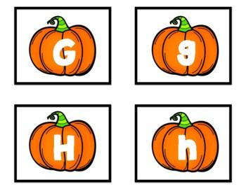Pumpkin Alphabet Concentration