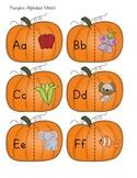 Pumpkin Alphabet Match Game