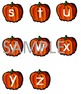 Pumpkin Alphabet Match Game