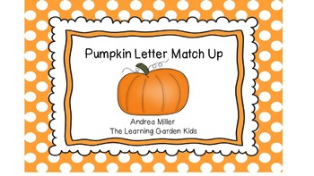 Pumpkin Alphabet Match Up