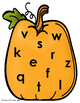 Pumpkin Alphabet Match-Up Mats