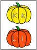Pumpkin Alphabet Match | Upper and Lower Case