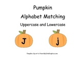 Pumpkin Alphabet Matching