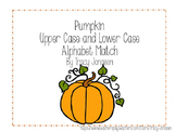 Pumpkin Alphabet Matching Activity