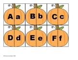 Pumpkin Alphabet Matching Cards