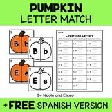 Pumpkin Alphabet Puzzle Literacy Center