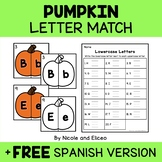 Pumpkin Alphabet Puzzle Literacy Center