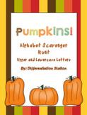 Alphabet Scavenger Hunt: Pumpkins
