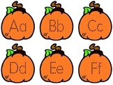 Pumpkin Alphabet Tracing Book