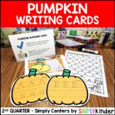 Pumpkin Alphabet Writing Center - Kindergarten Center - Si