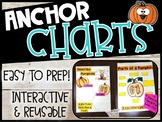 Pumpkin Anchor Charts and Spookley Story Map (Set #1)