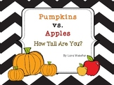 Pumpkin And Apple Nonstandard Measuring *Freebie*