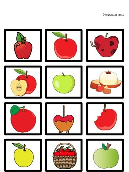 Pumpkin Apple Sort for Special Education FREE