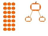 Pumpkin Array and Number Bond