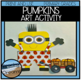 Pumpkin Halloween or Fall  Art Activity for Primary Grades
