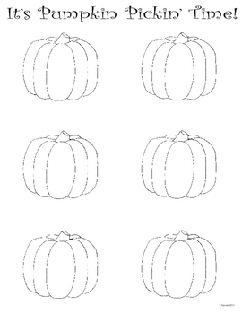 Pumpkin Art Creativity Exercise