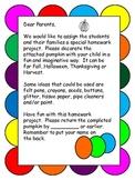 Pumpkin Art Home Project for Autumn, Thanksgiving or Halloween