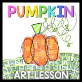 Pumpkin Activities: Art Lesson   Art Sub Plans