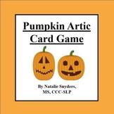 Pumpkin Articulation Card Game (TH, L, S Blends, K, G, CH, & SH) Speech Therapy