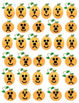 Pumpkin Attribute Cards & Mat