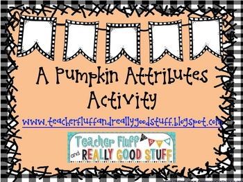 Pumpkin Attributes Counting and Sorting