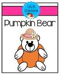 Fall Craft - Pumpkin Bear