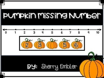 Number Line/Before and After Numbers to 20 Pumpkins