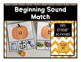 Pumpkin Beginning Sounds Picture Match