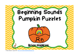 Pumpkin Beginning Sounds Puzzles