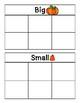 Pumpkin Big & Small Sort