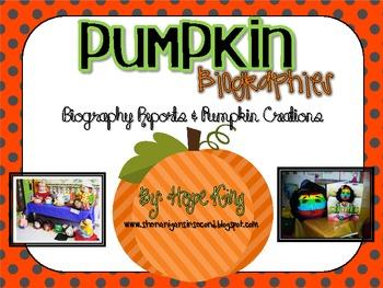 Pumpkin Biographies