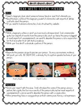 Pumpkin Biography Research Report