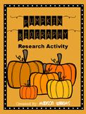 Pumpkin Biography; Halloween Activity: Fall Activity