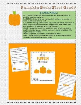 Pumpkin Book: First Grade