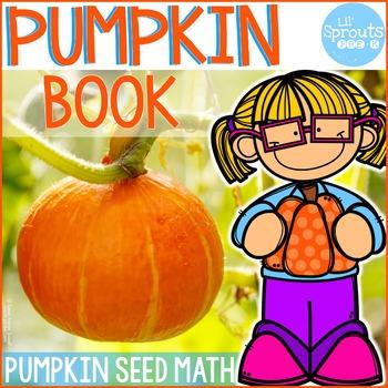 Pumpkin Book - Math Emergent Reader - Counting 1-20 - PreK, Kindergarten, Pre-K