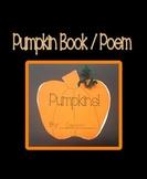 Pumpkin Book / Poem