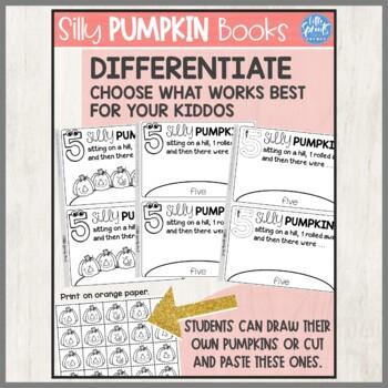 Pumpkin Book - PreK, Kindergarten, Preschool, Pre-K