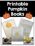 FREE Pumpkin Book Printable