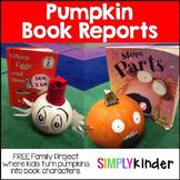 Pumpkin Book Report