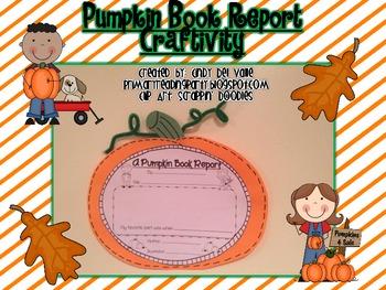 Pumpkin Book Report Craftivity