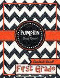 Pumpkin Book Report First Grade