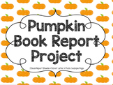 Pumpkin Book Report Project