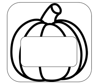 Pumpkin Book Writing Stationary
