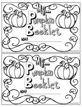 Pumpkin Booklet (Lexile Leveled Passages and Activities for October)