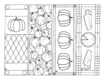picture regarding Printable Bookmarks Pdf referred to as Pumpkin Bookmarks Autumn Drop Thanksgiving Printable Coloring Web site PDF